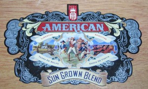 american cigar box artwork