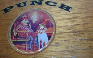 punch cigar box artwork
