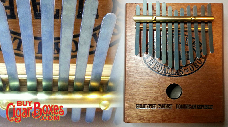 cigar box thumb piano kalimba